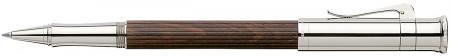 Graf von Faber-Castell Classic Rollerball Pen - Grenadilla Platinum Plated