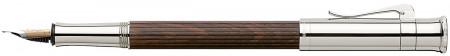 Graf von Faber-Castell Classic Fountain Pen - Grenadilla Platinum Plated