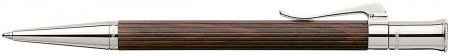Graf von Faber-Castell Classic Ballpoint Pen - Grenadilla Platinum Plated
