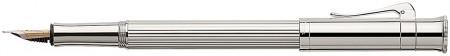 Graf von Faber-Castell Classic Fountain Pen - Platinum Plated