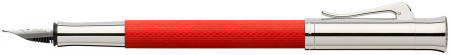 Graf von Faber-Castell Guilloche Fountain Pen - India Red