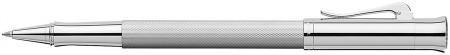 Graf von Faber-Castell Guilloche Rollerball Pen - Rhodium