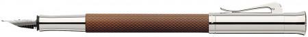 Graf von Faber-Castell Guilloche Fountain Pen - Cognac