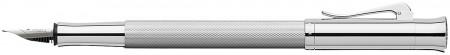 Graf von Faber-Castell Guilloche Fountain Pen - Rhodium