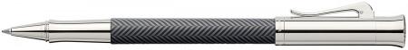 Graf von Faber-Castell Guilloche Rollerball Pen - Ciselé Black