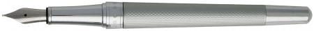 Hugo Boss Essential Fountain Pen - Matte Chrome