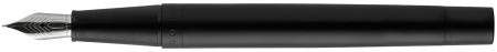 Hugo Boss Explore Fountain Pen - Brushed Grey