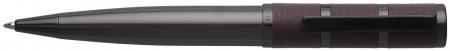 Hugo Boss Formation Ballpoint Pen - Grained Burgundy