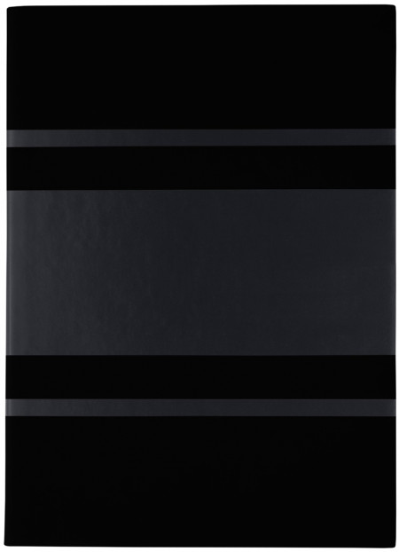 Hugo Boss Gear A5 Notepad - Matrix Black
