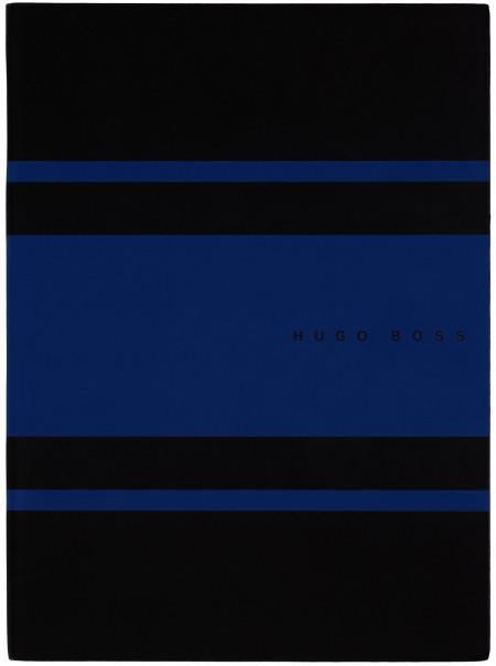 Hugo Boss Gear A5 Notepad - Matrix Blue