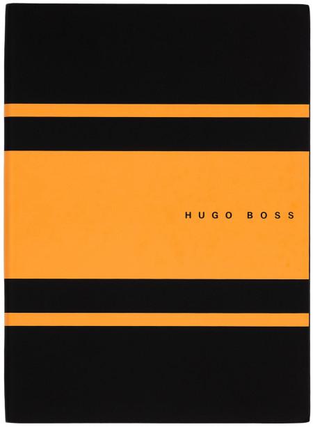 Hugo Boss Gear A5 Notepad - Matrix Yellow