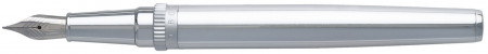 Hugo Boss Gear Fountain Pen - Metal Chrome
