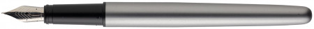 Hugo Boss Ribbon Fountain Pen - Matte Chrome