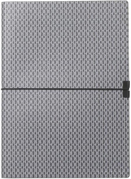 Hugo Boss Storyline A5 Notepad - Epitome Dark Grey