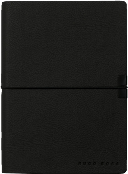 Hugo Boss Storyline A6 Notepad - Black