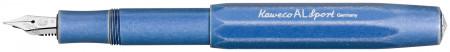 Kaweco AL Sport Fountain Pen - Stone Washed Blue