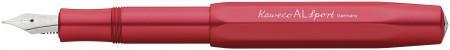 Kaweco AL Sport Fountain Pen - Deep Red