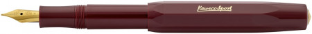 Kaweco Classic Sport Fountain Pen - Bordeaux Red