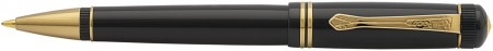 Kaweco DIA 2 Ballpoint Pen - Black Gold Trim