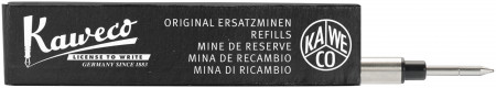 Kaweco Euro Refills for Rollerball Pens - Black