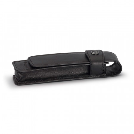 Kaweco Single Black Leather Pen Pouch - For Sport Series
