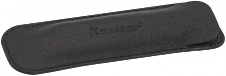 Kaweco Eco Leather Pouch for Regular Pens - Black - Double