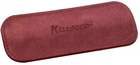 Kaweco Eco Velours Pouch for Sport Pens - Bordeaux - Double