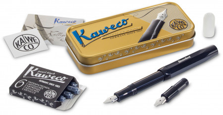 Kaweco Skyline Sport Calligraphy Set - Black (Mini)