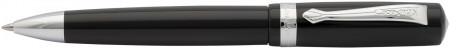 Kaweco Student Ballpoint Pen - Black Chrome Trim
