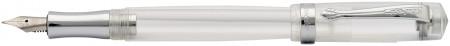 Kaweco Student Fountain Pen - Transparent Chrome Trim