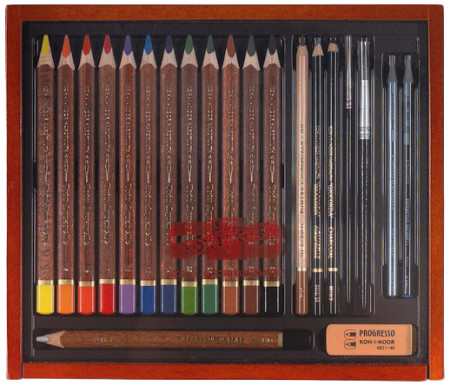 Koh-I-Noor 8897 Artist's Set - Aquarell Set of 21