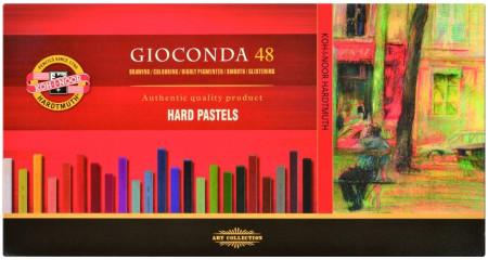 Koh-I-Noor 8116 Artist's Hard Chalks - Assorted Colours (Pack of 48)
