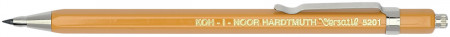 Koh-I-Noor 5201 Mechanical Clutch Leadholder - 2.0mm - Yellow with Clip