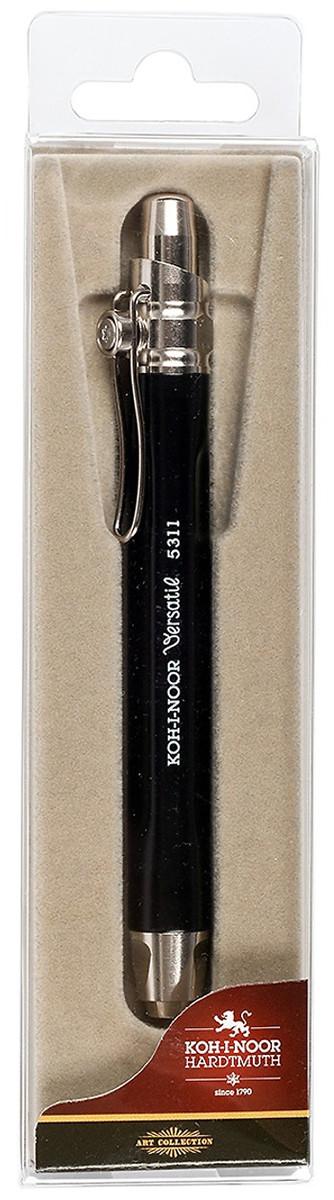 Koh-I-Noor 5311 Mechanical Clutch Leadholder - 5.6mm - Black