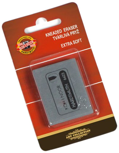 Koh-I-Noor 6423 Kneaded Eraser - Single (In Blister)