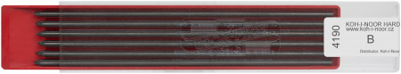 Koh-I-Noor 4190 Graphite Leads - 2.0mm x 120mm (Plastic Case of 12)