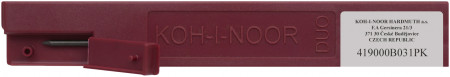 Koh-I-Noor 4190 Graphite Leads - 2.0mm x 120mm (Plastic Case of 2)