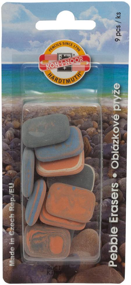 Koh-I-Noor 6510 Office Eraser Set - Assorted Erasers (Blister of 9)