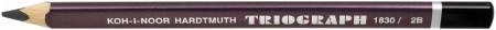 Koh-I-Noor 1831 Jumbo Triangular Graphite Pencil