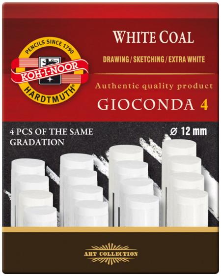 Koh-I-Noor 8692 Artificial Extra White Coals - Medium (Pack of 4)