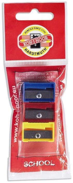 Koh-I-Noor Sharpener - Plastic Set of 3