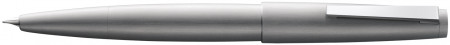 Lamy 2000 Fountain Pen - Brushed Stainless Steel with Solid 14K Gold Nib