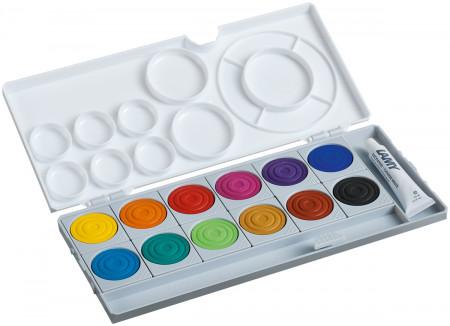 Lamy Aquaplus Paint Box - Assorted Colours (Set of 12)