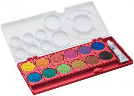 Lamy Aquaplus Red Paint Box - Assorted Colours (Set of 12)
