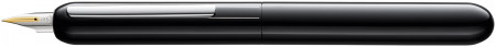 Lamy Dialog Fountain Pen - Piano Black with Solid 14K Gold Nib