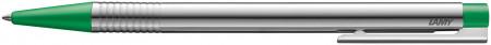Lamy Logo Ballpoint Pen - Matte Green Chrome Trim
