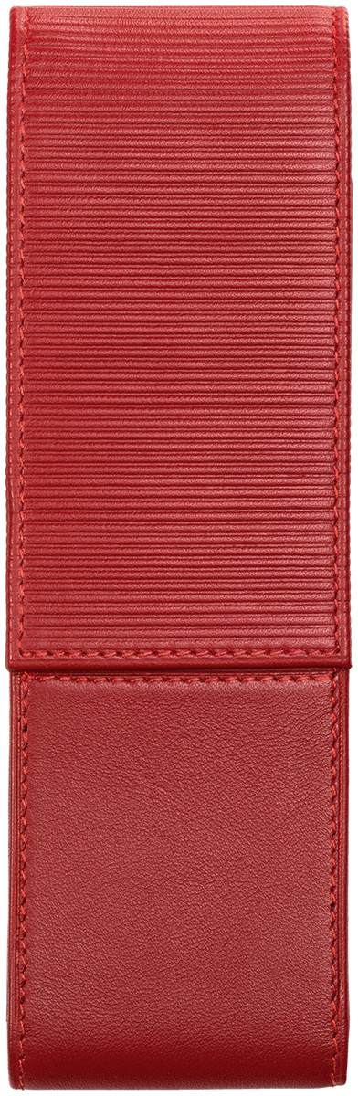 Lamy Premium Leather Pen Case for Two Pens - Red