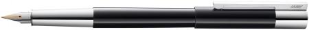 Lamy Scala Fountain Pen - Piano Black