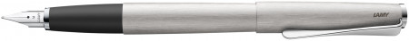 Lamy Studio Fountain Pen - Brushed Stainless Steel