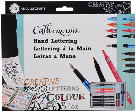 Manuscript Callicreative Hand Lettering Set